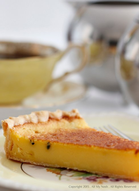 Passion Fruit Flan
