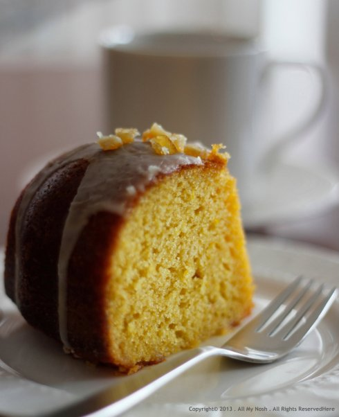 Orange and Olive Oil Bundt Cake