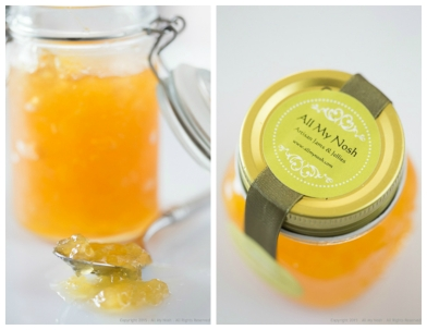 Pineapple and Passion Fruit Jam