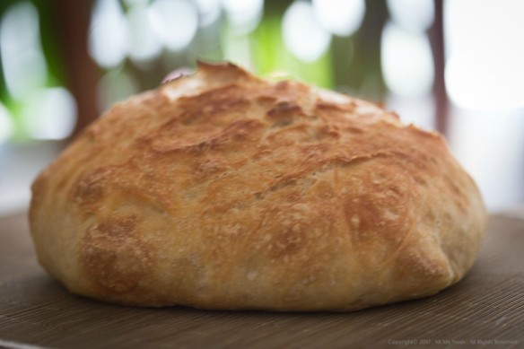 Easy Peasy No Knead Bread
